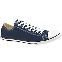 Buy Converse Chuck Taylor All Star Slim Ox Trainers, Blue Online at johnlewis.com