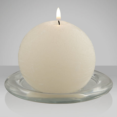 Buy John Lewis Rustic Ball Candle Online at johnlewis.com