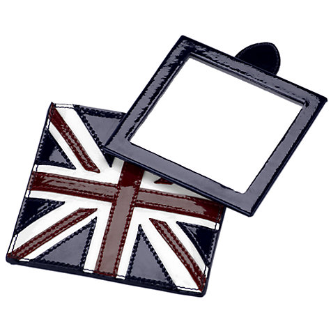 Buy Aspinal of London Brit Compact Travel Mirror Online at johnlewis.com