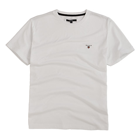Buy Gant Short Sleeve Solid T-Shirt Online at johnlewis.com