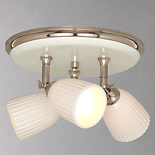 Buy John Lewis Valencia 3 Spotlight Ceiling Plate Online at johnlewis.com