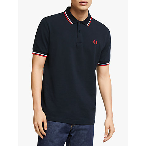buy fred perry twin tipped slim fit polo shirt john lewis. Black Bedroom Furniture Sets. Home Design Ideas