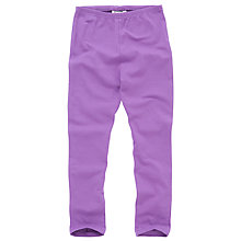 Buy John Lewis Girl Basic Leggings, Purple Online at johnlewis.com