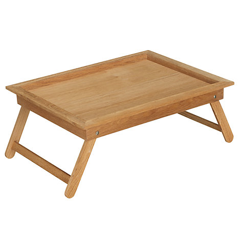 Buy John Lewis Coastal Oak Bed Tray Online at johnlewis.com