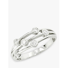 Buy EWA 18ct White Gold Diamond Ring, White Gold Online at johnlewis.com