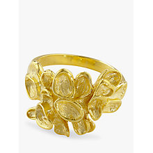 Buy London Road 9ct Yellow Gold Leaf Ring, Size N Online at johnlewis.com