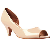 Buy KG by Kurt Geiger Adalia Peep Toe Court Shoes Online at johnlewis.com