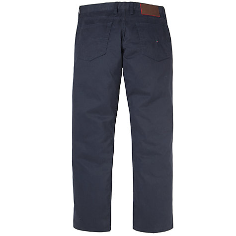 Buy Tommy Hilfiger Madison 5 Pocket Twill Trousers, Night Online at johnlewis.com