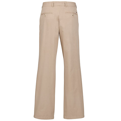 Buy Tommy Hilfiger Madison Twill Chinos, Batique Khaki Online at johnlewis.com