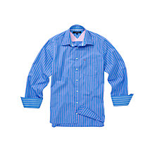 Buy Tommy Hilfiger Ocean Stripe Long Sleeve Shirt Online at johnlewis.com