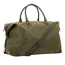 Buy John Lewis Milano Large Holdall, Olive Online at johnlewis.com