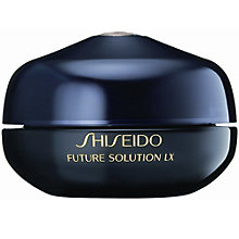 Buy Shiseido Future Solution LX Eye and Lip Contour Regenerating Cream, 15ml Online at johnlewis.com