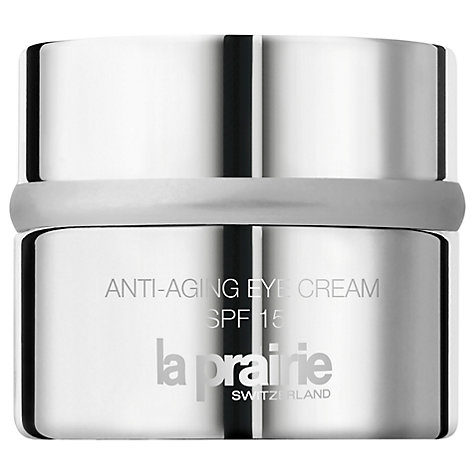 Buy La Prairie Anti-Aging Eye Cream SPF15 A Cellular Protection Complex, 15ml Online at johnlewis.com