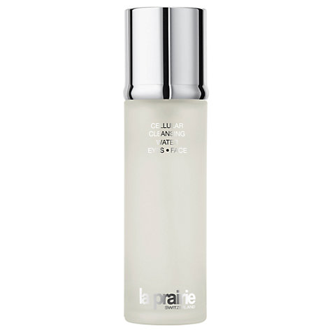 Buy La Prairie Cellular Cleansing Water Eye - Face, 150ml Online at johnlewis.com