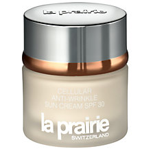 Buy La Prairie Cellular Anti-Wrinkle Sun Cream SPF30, 50ml Online at johnlewis.com