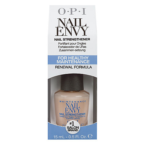 Buy OPI Maintenance Nail Envy Nail Strengthener, 15ml Online at johnlewis.com
