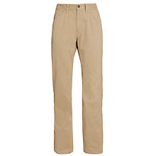 Buy Tommy Hilfiger Madison 5 Pocket Twill Trousers, Walnut Online at johnlewis.com