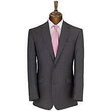 Buy Daniel Hechter Plain Organic Wool Suit, Charcoal Online at johnlewis.com