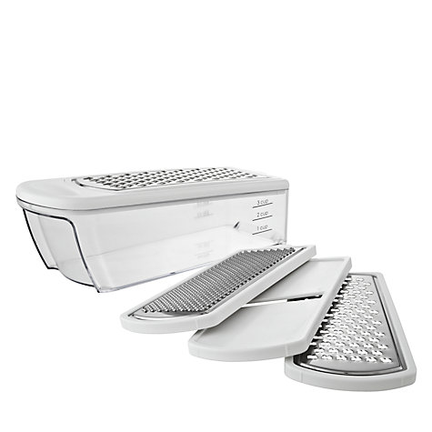 Buy John Lewis 4 in 1 Grater / Slicer Online at johnlewis.com