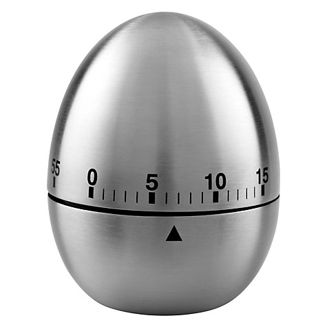 Buy John Lewis Stainless Steel Kitchen Egg Timer Online at johnlewis.com
