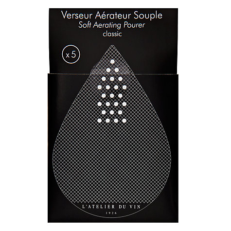 Buy L'Atelier du Vin Soft Aerating Pourers, Set of 5 Online at johnlewis.com