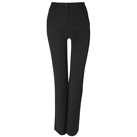 "Buy Viyella Petite 28"" Smart Jeans, Black Online at johnlewis.com"