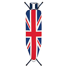 Buy John Lewis Union Jack Ironing Board, L124 x W38cm Online at johnlewis.com