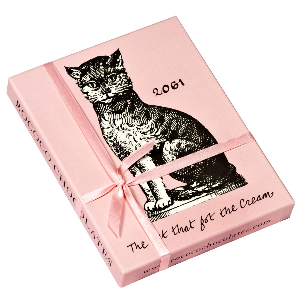 Rococo Chocolates Cat That Got The Cream Ganache Box, 110g