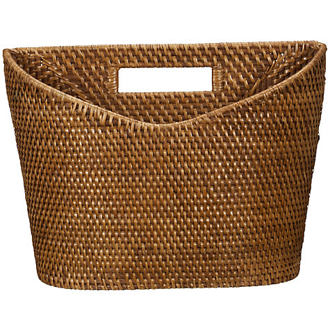 Buy John Lewis Rattan Magazine Rack Online at johnlewis.com