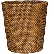 Buy John Lewis Rattan Wastepaper Bin Online at johnlewis.com
