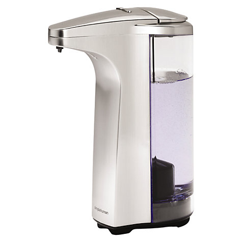 Buy simplehuman Sensor Soap Pump, Brushed Nickel Online at johnlewis.com