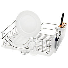 Buy simplehuman System Dish Drainer, Stainless Steel Online at johnlewis.com