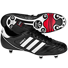 Buy Adidas Kaiser Cup Men's Football Boots, Black/Running White Online at johnlewis.com