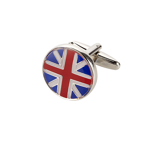 Buy John Lewis Union Jack Cufflinks Online at johnlewis.com