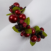 Buy John Lewis Berry Napkin Ring, Set of 4 Online at johnlewis.com
