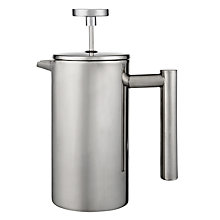 Buy John Lewis Double Wall Coffee Press, 12 Cup Online at johnlewis.com