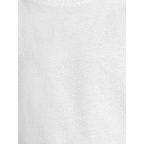 Buy John Lewis Cotton T-Shirt, Pack of 2, White Online at johnlewis.com