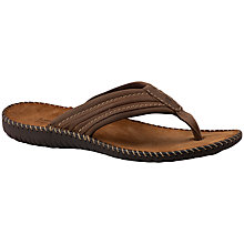Buy Josef Seibel Formosa 08 Leather Flip Flops Online at johnlewis.com