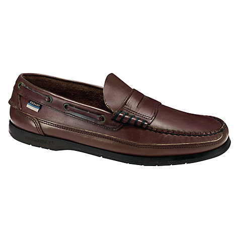 Buy Sebago Sloop Leather Deck Shoes Online at johnlewis.com