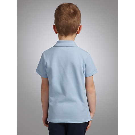 Buy John Lewis School Polo Shirts, Pack of 2, Blue Online at johnlewis.com
