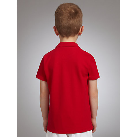 Buy John Lewis School Polo Shirts, Pack of 2, Red Online at johnlewis.com