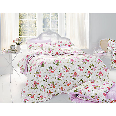 Buy Cath Kidston Antique Rose Bouquet Cushion Online at johnlewis.com