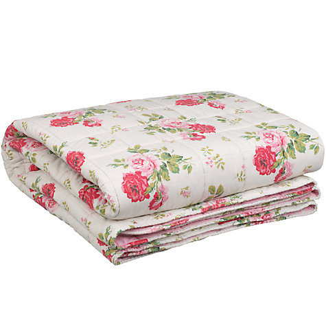 Buy Cath Kidston Antique Rose Bouquet Bedspread Online at johnlewis.com