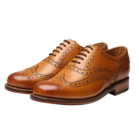 Buy Grenson Stanley Leather Brogue Goodyear Welt Shoes Online at johnlewis.com