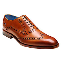 Buy Barker Grant Calf Leather Brogue Shoes Online at johnlewis.com