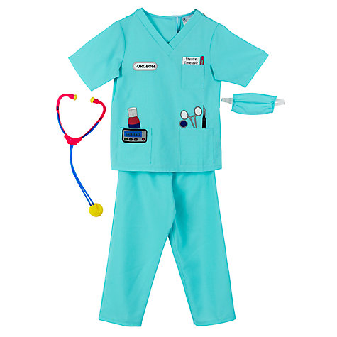Buy John Lewis Doctor Dressing-Up Costume, Assorted Online at johnlewis.com