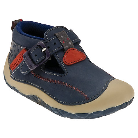 Buy Start-rite Tiny T-Bar Pre-Walker Shoes, Navy Blue Online at johnlewis.com