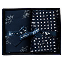 Buy Derek Rose Hankies, Pack of 2 Online at johnlewis.com