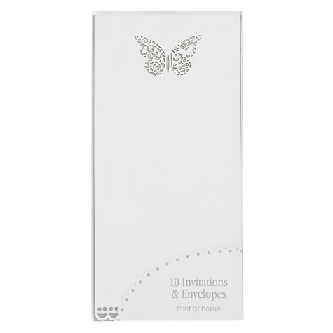 Buy Something in the Air Wedding Invitations with Envelopes Online at johnlewis.com