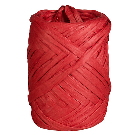 Buy John Lewis Raffia Ribbons, 25m Online at johnlewis.com